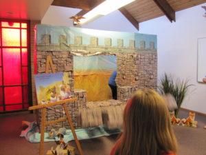 Storytelling - Wall of Jericho Falling