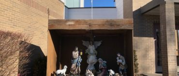 Nativity set in place at Trinity for Christmas
